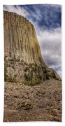 Devil's Tower Summer Afternoon Beach Towel