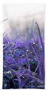 Dew Drops Magic Two Beach Towel