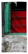 Dharamsala Window Beach Towel