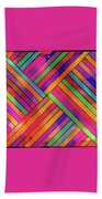 Diagonal Offset Beach Towel