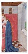 Dialogue Between Boethius And Philosophy Beach Towel
