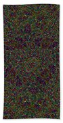 Diamond Tile Insanity Beach Towel
