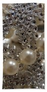 Diamonds And Pearls 2 Beach Towel