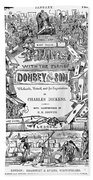 Dickens: Dombey And Son Beach Towel