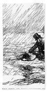 Dickens: Our Mutual Friend Beach Towel