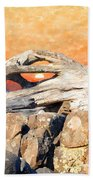 Diftwood Sunset Beach Towel