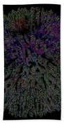 Digital Abstract Graphic Design A662016 Beach Towel