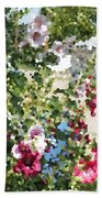 Digital Artwork 1399 Beach Towel