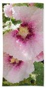 Digital Artwork 1401 Beach Towel