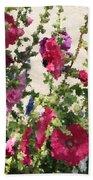 Digital Artwork 1418 Beach Towel
