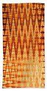 Digital Fire Beach Towel