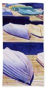 Dinghy Lines Beach Towel