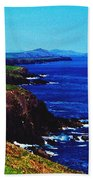 Dingle Coastline Near Fahan Ireland Beach Towel