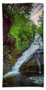 Dingmans Falls Beach Towel