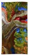 Dinosaur 12 Beach Towel
