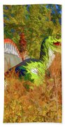 Dinosaur 9 Beach Towel