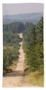 Dirt Road To Dolly Sods Beach Sheet