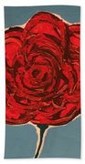 Dirty Rose Beach Towel