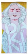 Disco Bey - Graffiti Art Beach Towel