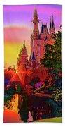 Disney Fantasy Art Beach Towel