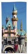 Disneyland Castle Beach Towel