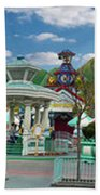 Disneyland Toontown Young Man Proposing To His Lady Panorama Beach Towel