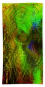 Dissolution Beach Towel by Linda Sannuti