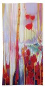 Distant Memory - A Semi Abstract Landscape Beach Towel