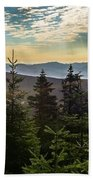 Distant Mountains To The East Beach Towel