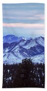 The Distant Peaks Of Pikes Beach Towel