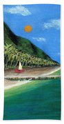 Distant Shores Beach Towel