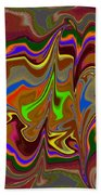 Distorted Dreams Beach Towel