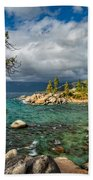 Divers Cove At Lake Tahoe Beach Towel