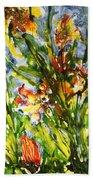 Divine Blooms-21061 Beach Towel