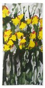 Divine Blooms-21085 Beach Towel