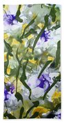 Divine Blooms-21172 Beach Towel