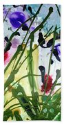 Divine Blooms-21174 Beach Towel