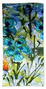 Divine Blooms-21180 Beach Towel