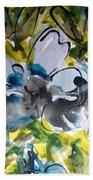 Divine Blooms-21195 Beach Towel