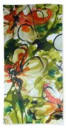 Divine Blooms-21203 Beach Towel