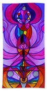 Divine Feminine Activation Beach Towel