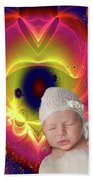 Divine Heart/bigstock - 92883674 Baby Beach Towel