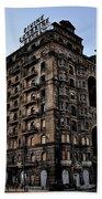 Divine Lorraine Hotel Beach Towel by Bill Cannon