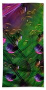 Diving The Reef Series - Hallucinations Beach Towel