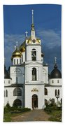 Dmitrov. Assumption Cathedral. Beach Towel