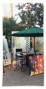 Dmrt Art Show Beach Towel