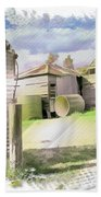Do-00027 Old Cottage Beach Towel