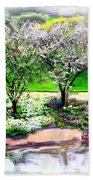 Do-00066 Lake Walk Beach Towel