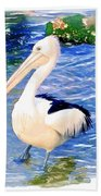 Do-00088 Pelican Beach Towel