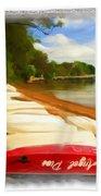 Do-00125 Tender Boats Beach Towel